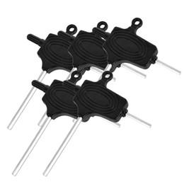 set wrenches 2019 - 5Pcs Mini Micro Hex Hexagon Allen Key Set Wrench Screwdriver Tool Kit Black or Green Tattoo Machine Gun Adjust Tool Tatt