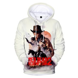 1651cc45b98 Kpop BTS 3D Hoodies RED DEAD REDEMPTION 2 Hoodies Women Men Harajuku Print Sweatshirts  Pullover Oversized Hoodie Coat Women Top