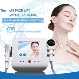 Thermo RF Facial Thermal Lift Focused Radio Frequency Therapy Machine fat removal thermo lift equipment body slimming machine on Sale