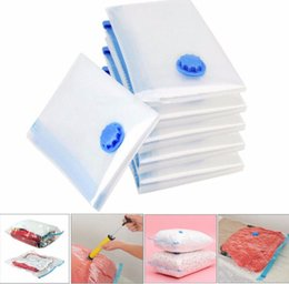 vacuum sealed storage bags Australia - Vacuum Bag Storage Organizer Transparent Border Foldable Extra Large Seal Compressed travel Saving Space Bags organizador