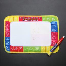 $enCountryForm.capitalKeyWord Australia - New Mini Water Drawing Board Writing Painting Aquadoodle Board with Magic Pen Water Drawing Mat Kid Doodle Play Mat