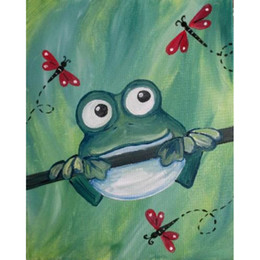 Color Diy Painting Australia - 5D Diy diamond painting cross stitch mosaic diamond embroidery home decoration rhinestone painting gift, color insect frog