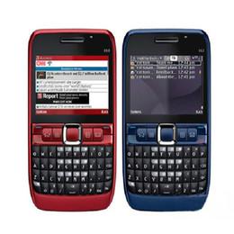 2MP bar desbloqueado teléfono cámara tarjeta SIM 2.36 pulgadas E63 teléfono celular teléfono inteligente con WIFI GPS Bluetooth FM radio con caja