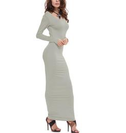 60f0ddcaa Vestido De Cuello Redondo Modelo Invierno Online | Vestido De Cuello ...
