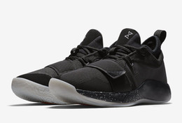 Glitter Store UK - Top Quality PG 2.5 Black white anthracite shoes for sale Drop Shipping store Paul George free shipping us7-us12