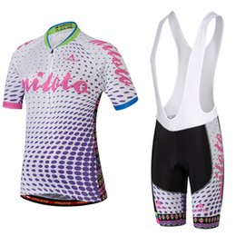 lycra cycling jersey sets NZ - Women Comfortable&suitable Bike Team Cycling Jersey Set Bib Shorts Maillot Ropa Ciclismo Bicycle Jersey Summer Bike Cycling Clothing Outdoo