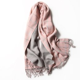 Apparel Accessories Hot Sale Top Quality Solid Tassels Scarf All-match Couple Autumn Winter Unisex Scarf Warm Wrap Shawl Women Men Accessory Gifts Good Heat Preservation