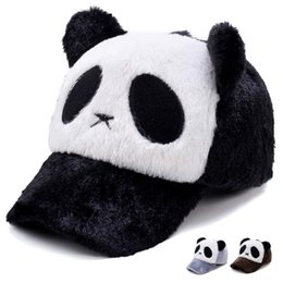 Summer Lovely Panda Print Solid Unisex Peaked Hat Snapback Baseball Cap  Adjustable Hats Casquette Vintage Hats For Kids 92b30e24a561