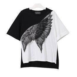 $enCountryForm.capitalKeyWord Canada - 2018 Summer Female T Shirts For Women Toop Patchwork Feather Short Sleeve Casual Women's Tshirt Clothes Fashion