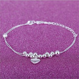 $enCountryForm.capitalKeyWord NZ - 925 sterling silver Bracelet Link Chain 8 inches exquisite lady Infinity Bracelet fast free shipping new arrival