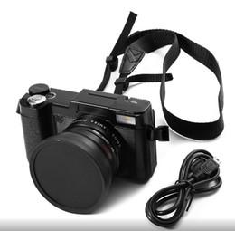 24MP HD Half-DSLR digitale professionale w / 4x teleobiettivo, Fisheye largo Angle Camera Macro Lens Videocamera HD in Offerta