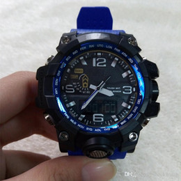 Red watches foR boys online shopping - New Shock Watch GWG Men s Sports Watches Anlog LED Outdoor Waterpoof Wristwatch military watch good gift for men boy