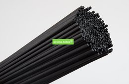 Stick Diffuser NZ - 500 PCS 3MM*30CM  Black Fiber Reed Diffuser Replacement Refill Sticks Aromatic Sticks For Fragrance Top Quality