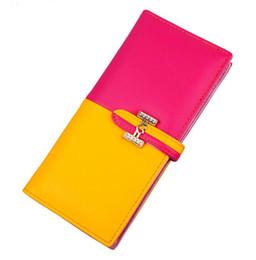 $enCountryForm.capitalKeyWord UK - 2018 Fashion New Candy Multi Card Lady Purse Wallet Long Phone Bag Lunch Box Luxury Handbag