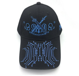 Sao coSplay online shopping - Anime Sword Art Online SAO Baseball Cap Snapback Hat Cosplay Hip hop Luminous