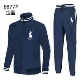 Body Tutu Australia - polo Men s Sports Suit Spring and Autumn New Leisure Men s Decoration Body 3 Colour Size M-2XLcm 8877-2 Sports Suit