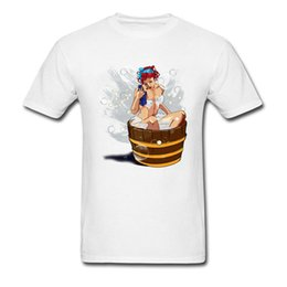 sex pictures man NZ - Tub Girl Pin Up T-shirts Mens Newest Summer Fashion Tee Shirts For Adult Sex Men's Never Fade Picture Clothing Tees