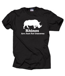 Discount rhino shirt - Rhinos Are Just Fat Unicorns T-Shirt Funny Tshirt Shirt Tee