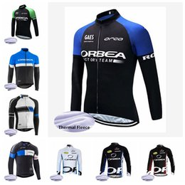 orbea fleece jersey NZ - New ORBEA team Pro Cycling Jersey bike clothes Ropa Ciclismo maillot thermal fleece Winter Bicycle clothing men's MTB Wear 82816J