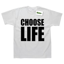 george t shirt 2018 - Details zu Choose Life Wham George Michael Inspired 80s Fancy Dress Printed T-Shirt Funny free shipping Unisex Casual gi