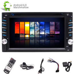 Auto Tv Player Australia - Android 6.0 Car DVD CD Player Autoradio Double 2 Din Car Stereo System 6.2''Capacitive Touchscreen In Dash GPS Navigation Auto Radio