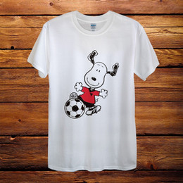 $enCountryForm.capitalKeyWord Australia - Snoopy Dog Football Peanuts Gift Comics Design T-Shirt Men Funny free shipping Unisex Casual gift
