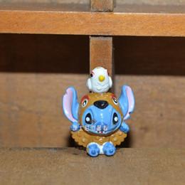 $enCountryForm.capitalKeyWord UK - 60pcs lot 2.5cm cute stitch cosplay Action figure toys stitch Adorable Collectible Model stitch microlandschaft toys