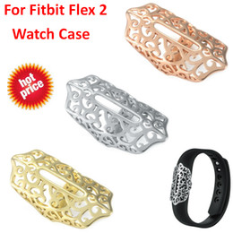 Discount fitbit cases - Hot Watch Cover Case For Fitbit Flex 2 Band Accessory Metal Sleeve Protector Cover For Fitbit Flex 2 Case Strap Steel Or