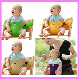 Carry Chair Australia - Portable Infant Baby Dinning Eatting Waist Bag Strap Child Car Chair Safety Seat Carrier Motorcycle Safety Belt 4~36 M