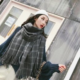 Discount big tassel scarves - New fashion winter comfortable big thick sweet tassel scarf new arrival soft high quality outdoor fresh holiday warm wil