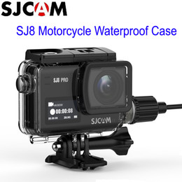 $enCountryForm.capitalKeyWord NZ - Camera Photo Sports Action Video Cameras Accessories CAM 8 Series Motorcycle Waterproof Case with USB-C Cable for SJ8 Pro SJ8 Plus SJ8