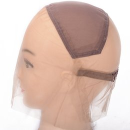 $enCountryForm.capitalKeyWord NZ - Full Lace Net Cap In Brown Wig Lace Net Cap Wig Hairnet Full Hand Net Bottom