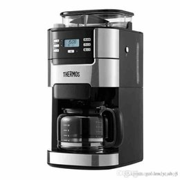 Coffee Beans Grinding NZ - 2018 New Household American Coffee Maker Full Automatic Multifunctional American Coffee Machine With Grinding Beans 900W