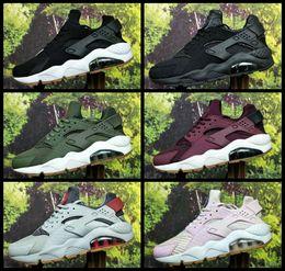 2e1fe671d113 Air Huarache ID Custom Running Shoes For Men Women Red Blue Army Green Tan  Huaraches Sneakers Designer Huraches Brand Hurache Trainers 36-45