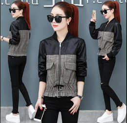 503e8626d58 Black korean ladies jacket online shopping - Autumn Short Jacket Coat Women  New Korean Stand Collar