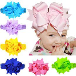 $enCountryForm.capitalKeyWord Canada - 12Pcs Christmas Large Dual-use Kids Layered Bows Hairpin Headband Baby Girls Handmade Boutique Hair Clip Headband Beautiful HuiLin DW88