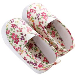 Lazy Boy Springs NZ - Autumn Spring Baby Grils Shoes Fresh Floral Lazy Baby Soft First walkers Soft Rubber Soled Shoe