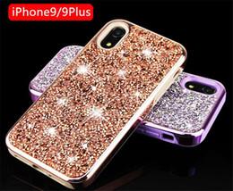 $enCountryForm.capitalKeyWord NZ - Luxury Premium bling 2 in 1 Luxury Diamond Rhinestone Glitter Cell Phone Case For iPhone XS MAX XR X 8 7 6 Plus Samsung S8 S9 plus Note 9