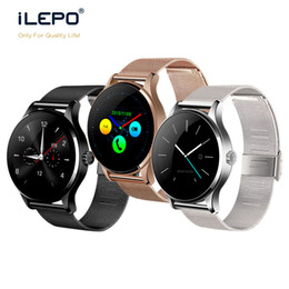 wrist watches for women Australia - 1pcs K88H Bluetooth Smart Watch MTK2502 Heart Rate Monitor Sync Phone Call Message Men Women Wrist Smartwatch for android phone smart watch