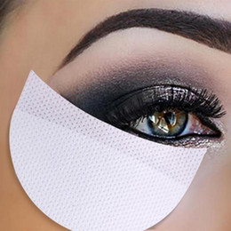 sticker makeup eyeshadow NZ - 100 50 20 pairs Eyeshadow Shields Under Eye Patches Disposable Eye Shadow Makeup Protector Stickers Pads Eyes Makeup Application
