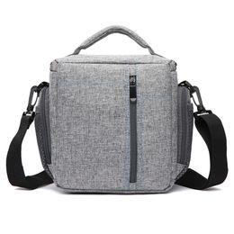 Sling camera bagS dSlr online shopping - Fashion Waterproof Fabric Camera Shoulder Bag DSLR Sling Camera Bag With Rain Cover For Canon Nikon Sony Panasonic Lumix Fuji