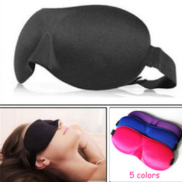 Wholesale Eye Patch d Sleep Mask Natural Sleeping Eye Mask Eyeshade Cover Eyes Women Men Soft Portable Travel Blindfold