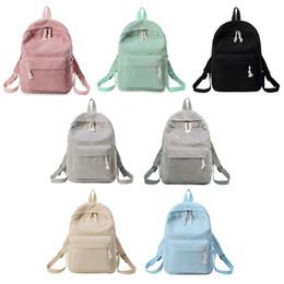 $enCountryForm.capitalKeyWord Australia - NoEnName_Null High Quality Corduroy Backpack Fashion Women Girls Students Corduroy Backpack Rucksack School