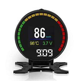 $enCountryForm.capitalKeyWord UK - P15 Smart Car Head Up Display HUD with Windshield Digital Motor Speed Meters Projector OBD2 EUOBD Interface for 99% of Vehicles