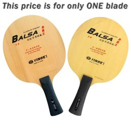 Discount galaxy t blade - Wholesale- Original Yinhe Milky way Galaxy T-9 T9 T 9 table tennis pingpong blade