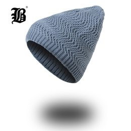 5068573acc3  FLB  Winter Hats for Women Autumn Warm Skullies Beanies Knitted Hat Fashion  Girls Baggy Slouchy Bonnet Casual Ladies Cap FK7715