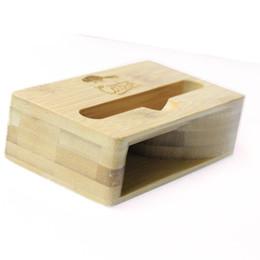 Loudspeakers Tablet Australia - Portable Phone Holder Bamboo Lazy U&I Wood Stand for iPhone New Mini Speaker Amplifier Tablet Bracket Universal With Loudspeaker for Iphone