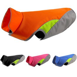 China Large Dog Reflective Vest Waterproof Pet Apparel Life Jacket Outdoor Dog Safety Clothing Pet Hunting Waistcoat Warm Winter Coat cheap hunting clothing suppliers