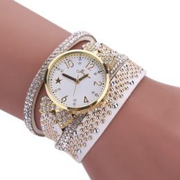 $enCountryForm.capitalKeyWord Canada - Women's Bracelet Watches Fashion Leisure Womens Quartz Watch shiny Crystal Diamond Wrist Watch clock relogio feminino Gift Saat