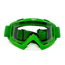 Wholesale Hot Sale Motorcycle Goggles Glasses Motocross Goggles Moto Cross Country Flexible Clear Lenses Motocross